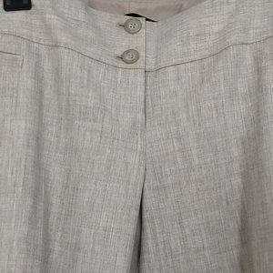 Limited Lexie Fit linen texture trouser size 6